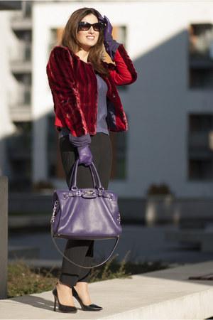 Jones jacket - Michael Kors bag - Zara pants