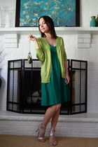 green cotton Old Navy dress