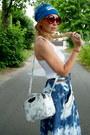 White-parfois-bag-navy-diy-skirt-white-new-look-top