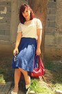 White-white-lace-made-by-me-blouse-ruby-red-local-store-bag