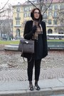 Brandy-melville-coat-burberry-scarf-hermes-bag-zara-pants