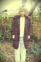 Playground Love Vintage blazer - One Teaspoon jeans - H&M t-shirt