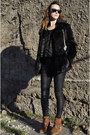Lurex-miss-selfridge-jumper-suede-kurt-geiger-boots