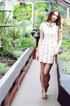 Topshop dress - River Island sandals