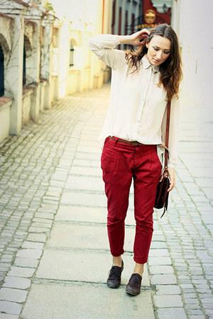 Zara pants - TK Maxx shoes - Primark shirt