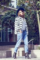 Matalan jeans - asos hat - Little Mistress jacket - Mango t-shirt