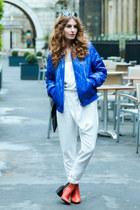 Zara boots - Fashion Pills jacket - vintage bag - Mango sunglasses