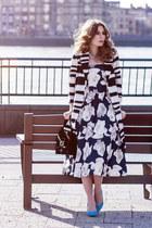 Chi Chi London dress - Little Mistress coat - H&M heels