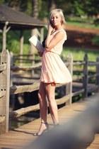 Miss Selfridge dress - River Island bag - suede Zara heels