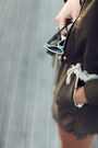 Olive-green-khaki-stradivarius-jacket-black-leather-jimmy-choo-bag