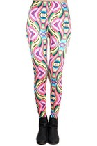bubble gum Poppy Lovers leggings