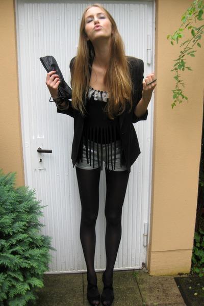 h&m divided shorts - new look heels