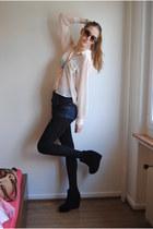 Topshop shorts - Modekungen wedges