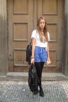 Topshop bag - H&M flats