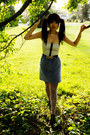 Navy-arnold-churgin-boots-periwinkle-unknown-brand-dress