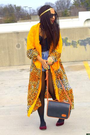 mustard leopard Posh Nouveau jacket