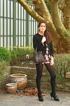 D&G blazer - Philosophy bag - Urban Outfitters bodysuit - D&G heels