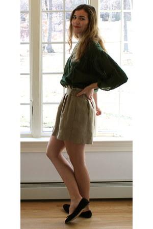 Forever 21 skirt - Anthropologie blouse