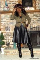 faux leather choiescom skirt
