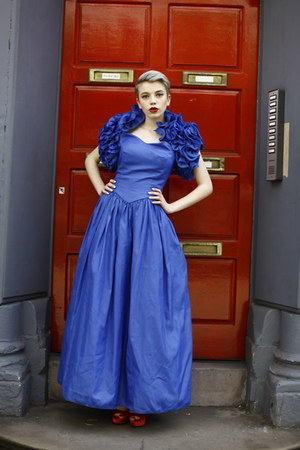 blue prom Pretty Disturbia Vintage dress