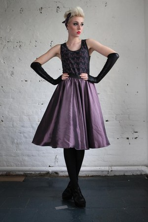 amethyst flared skirt Pretty Disturbia skirt