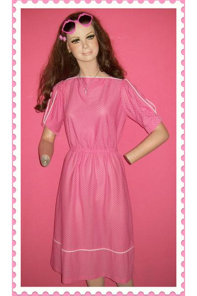 pink dress - dress