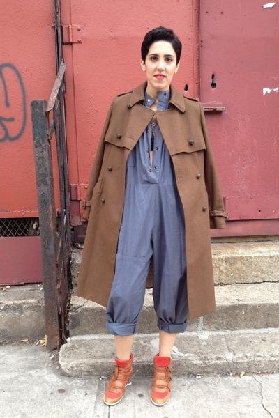 military jacket Alexander McQueen coat - utility vintage jumper