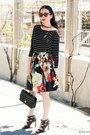 Black-dv-by-dolce-vita-shoes-black-chanel-bag-red-alice-olivia-skirt