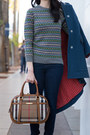 Brown-calvin-klein-boots-navy-marc-by-marc-jacobs-coat-navy-j-crew-jeans