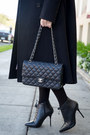 Black-steve-madden-boots-black-chanel-bag-white-juicy-couture-blouse