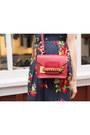 Navy-juicy-couture-dress-brick-red-sophie-hulme-bag