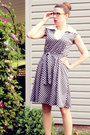 Navy-vintage-dress-neutral-steve-madden-heels