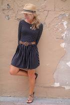 Hallelu dress - thrifted belt - Madden Girl shoes - Hallelu accessories