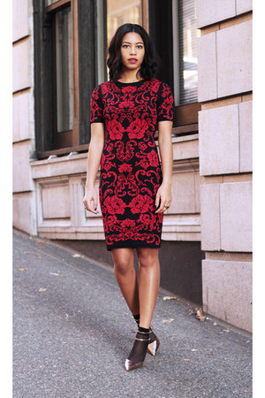 cynthia steffe dress - Zara pumps