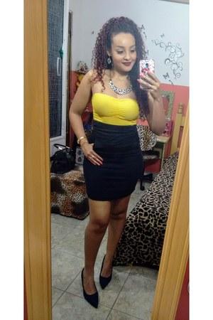 yellow blouse - yellow blouse - blouse - yellow blouse - yellow skirt