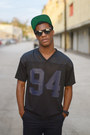 Black-undefeated-hat-black-shorts-h-m-shorts-black-lookmatic-sunglasses