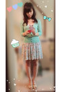 Aquamarine-h-m-cardigan-aquamarine-no-brand-skirt-nude-sandals