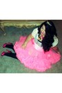 White-lace-forever-21-top-bubble-gum-tutu-skirt
