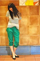 f21 shoes - f21 shirt - Zara pants