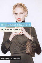 Milkmaid Braid DIY