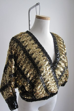sequins Promise To Repeat blouse
