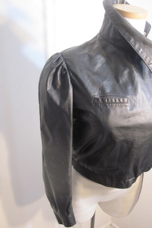 leather Promise To Repeat jacket