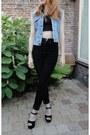 Corduroy-monki-jeans-light-blue-vintage-denim-wrangler-jacket