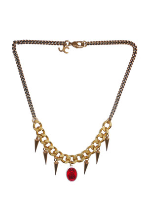 Justine Clenquet on Puloma necklace