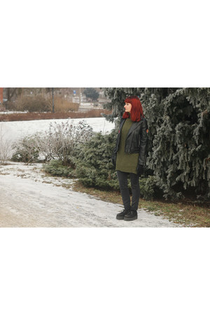 black Rosegal jacket - army green zaful sweater