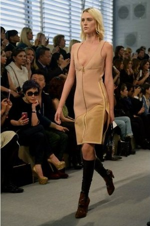 beige Louis Vuitton dress