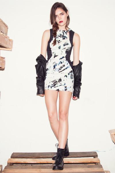 Pynk Nylon dress - Pynk Nylon jacket
