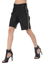TAILORED MAXI SHORT WITH CHAIN SIDE DETAIL