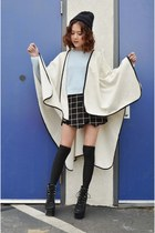sweater Tobi sweater - poncho Q2HAN coat - skort Tobi shorts