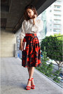 Midi-skirt-sheinside-skirt